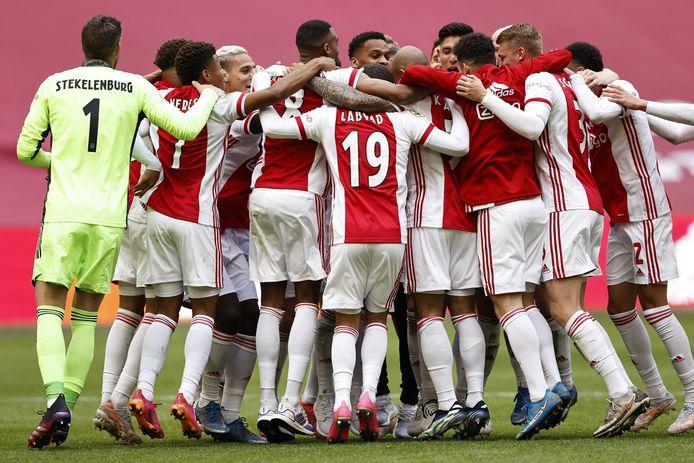 L'Ajax est champion des Pays-Bas.