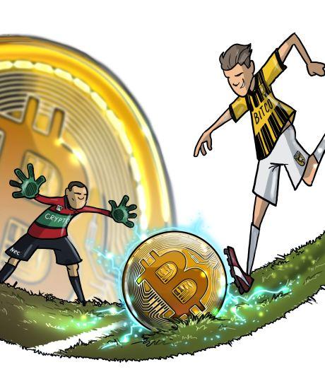 Cryptobedrijven bestormen de voetbalwereld, maar: 'Pas op, beleggen brengt risico's met zich mee'