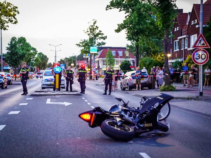 Fietsster en motorrijder gewond bij aanrijding op Leenderweg in Eindhoven, traumaheli ter plaatse