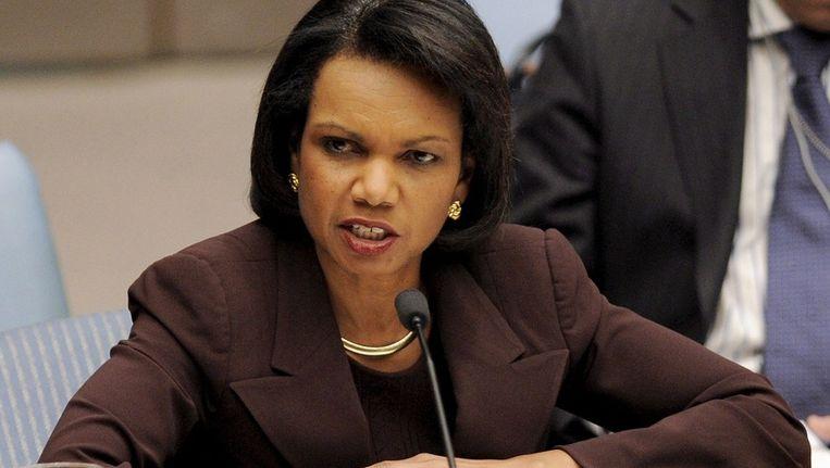 Archieffoto van Condoleezza Rice Beeld anp
