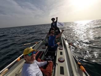 """Jelle Veyt met whaleboat vertrokken voor tocht over Atlantische Oceaan naar Miami: """"Volledig overgeleverd aan de elementen van de oceaan"""""""