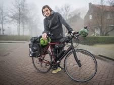 Fietser Henk (27) nu onderweg naar Singapore