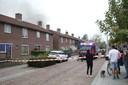 Woningbrand aan Teugenaarsstraat in Oss
