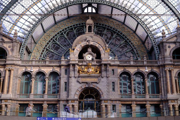 Antwerpen-Centraal Beeld Photo News