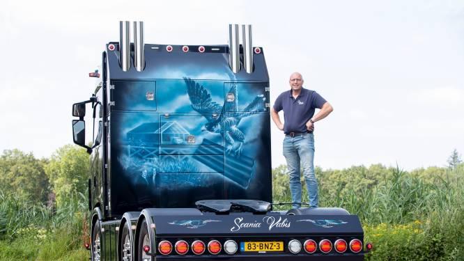 Johan gaat voor titel Mooiste Truck van Nederland: 'Zelfs het motorblok moet glimmen'