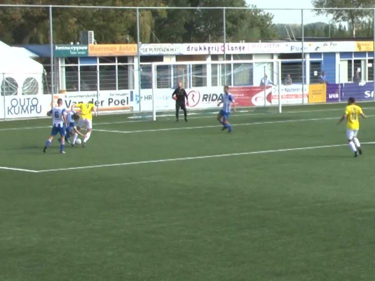 Hoek lijdt eerste nederlaag tegen FC Lisse