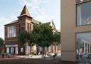 De oude school in het centrum van Waalwijk moet weer in ere hersteld worden.