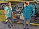 Transport van de zieke Tom Schoonhoven van Marbella naar Groningen door de stichting Ambulance Wens.
