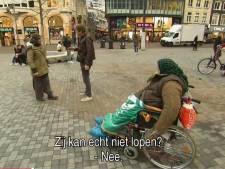 Betrapt: Utrechtse bedelaars doen alsof ze gehandicapt zijn