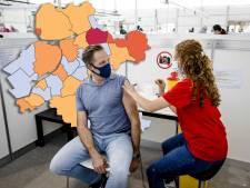 KAART | Staphorst opnieuw negatieve uitschieter in regio, geen nieuwe besmettingen in vier gemeenten