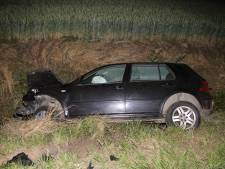 Auto in sloot Sint Philipsland: 1 gewonde