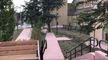 Shortcut tussen Molenstraat en Berglaan dankzij nieuwe trap