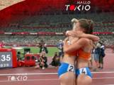 Vetter en Oosterwegel in tranen na zilver en brons op de zevenkamp