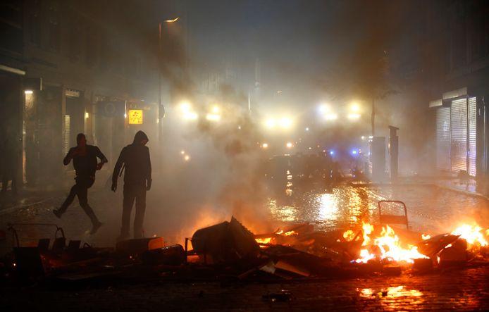 Rellen bij de G20-top in Hamburg in juli van dit jaar.