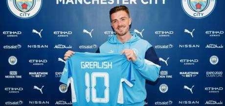Jack Grealish voor recordbedrag van Aston Villa naar Manchester City