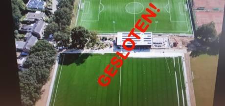 Clubs verbieden jeugd toegang tot voetbalvelden