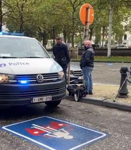 La voiture de Mathieu Michel devant le siège du MR n'est pas passée inaperçue