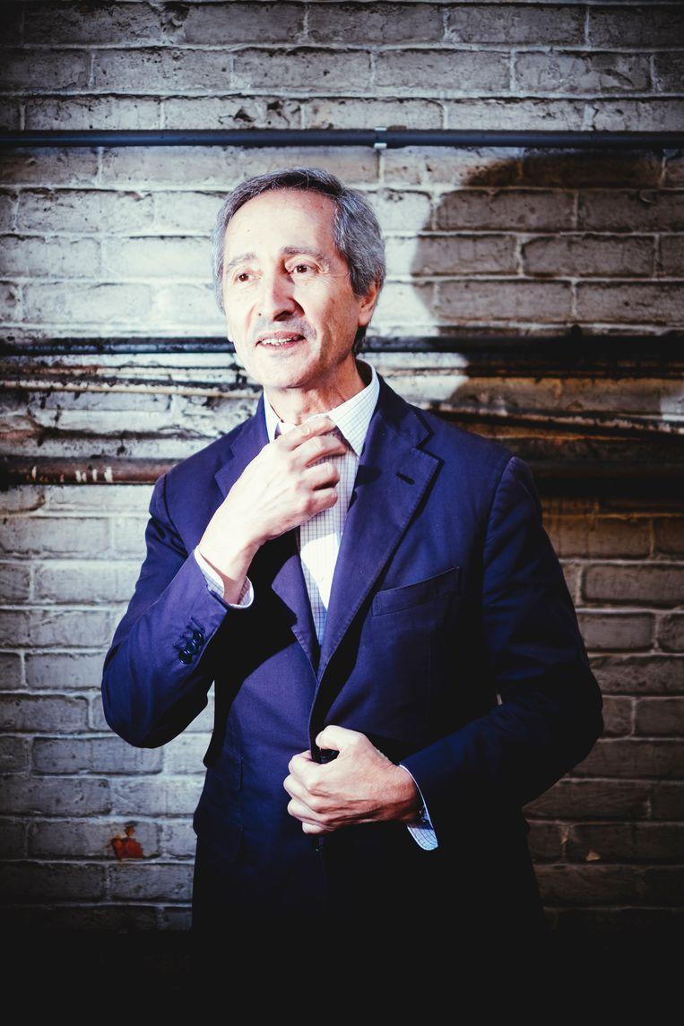 Bernard Blistene is directeur in Centre Pompidou Parijs en curator van Kanal. Beeld Stefaan Temmerman