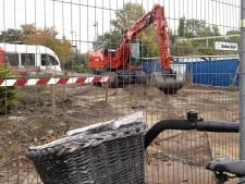 Bouw tunnel bij Gorcums station nog ver weg: aannemer Ballast Nedam ruimt de boel zelfs op