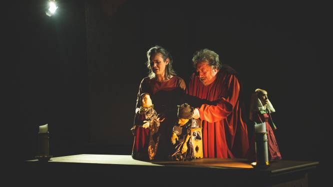 """Mysterie van gebroeders Van Eyck nu ook in poppen- en schimmenspel: """"Focus op ontstaan van het Lam Gods, niet op de diefstal"""""""