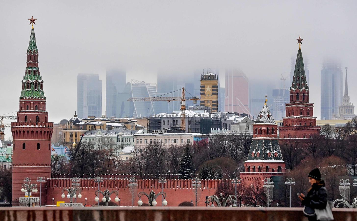 Het Kremlin in Moskou.
