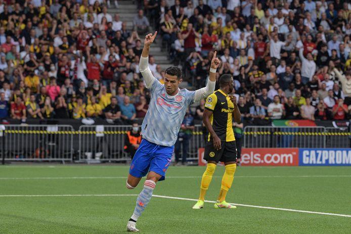 Ronaldo scoorde nog de openingstreffer.