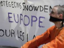 Manifestation de soutien à Edward Snowden à Paris