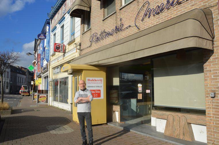 Een jaar geleden klaagde patissier Rudy Meert nog over het naastgelegen café Mistral.