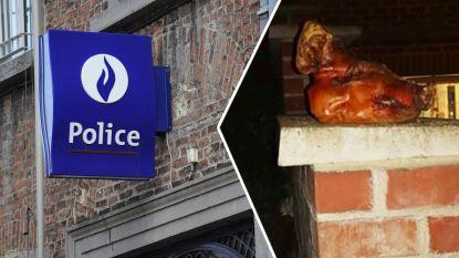 Moslimfamilie ontdekt bij thuiskomst gekookte varkenskop
