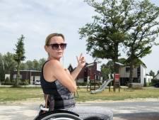 Nicole heeft nog maar 15 procent zicht met haar linkeroog door eikenprocessierups