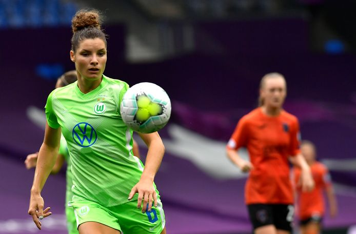 Jill Roord wordt bij Wolfsburg ploeggenoot van Dominique Janssen.
