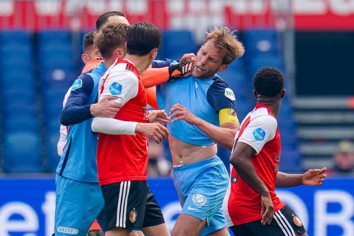 Willem Janssen is het toonbeeld van de Utrechtse frustratie bij een opstootje.