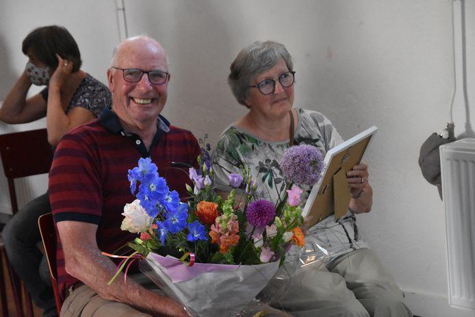 Piet van der Eijk met zijn vrouw.