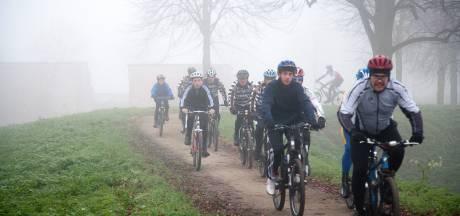 HulstPlus wil boetes voor mountainbikers  op de stadswallen