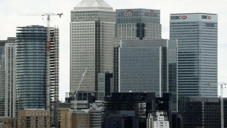 The City, het economische hart van Londen. Beeld null