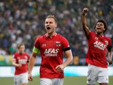 AZ nadert Ajax en PSV dankzij krappe zege op taai ADO