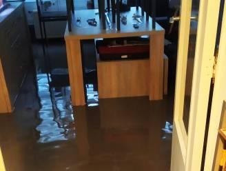 """Bewoners Parklaan kampen met wateroverlast tot in woning na hevige regenval: """"Op een kwartier stond de hele woning onder water"""""""