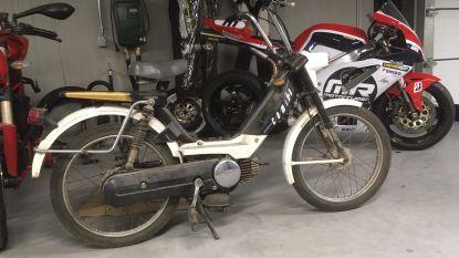 Dit is de Honda Camino van Otto-Jan Ham en die is zaterdag te bewonderen in Puyenbroeck