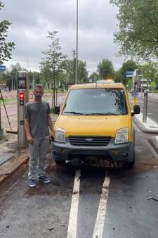 Arbeidsmigrant Daniel Dorin is de achttiende automobilist die op 'horrorpoller' aan de Escamplaan botst