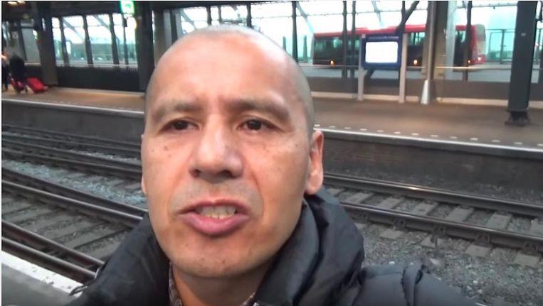 Jaime van Gastel heeft al geholpen bij de arrestatie van meer dan 400 zakkenrollers Beeld Jaime van Gastel