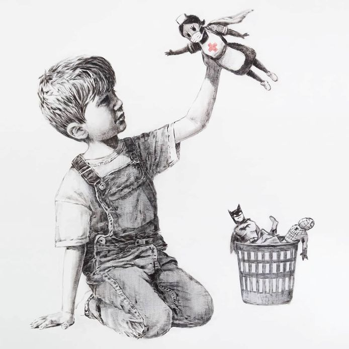 'Game Changer' van Banksy