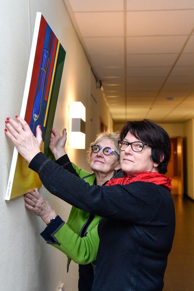 Kunst Nu exposeert in dienstencentrum Ter Welle