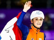 Schaatsster Irene Schouten rijdt NK op de fiets