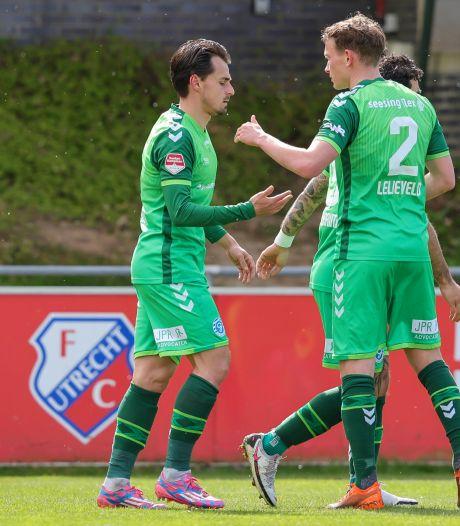 De Graafschap toont karakter met minimale zege op Jong FC Utrecht