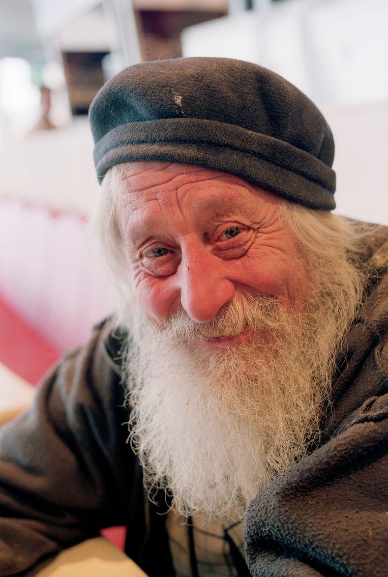 Kunstenaar, schilder en fotograaf Gerard Fieret in 2003. Beeld Serge Ligtenberg / HH