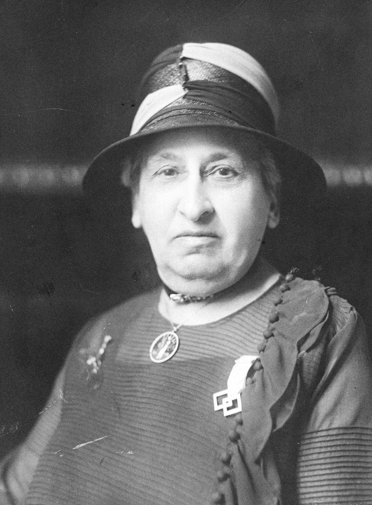 Portret uit 1929, genomen tijdens de Berlijnse conferentie van International Alliance of Women Beeld Archief