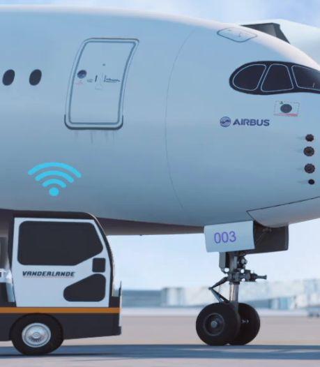 Op Eindhoven Airport rijdt de koffer straks zelf naar het vliegtuig