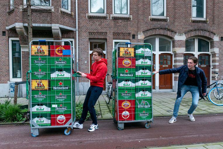De overheid wil met de strengere regels 'problematisch alcoholgebruik' onder Nederlanders terugdringen. Beeld Hollandse Hoogte / Sabine Joosten