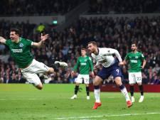 Spurs voorkomt met invaller Janssen blamage