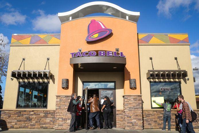 Een filiaal van Taco Bell.